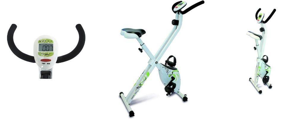 Mejor-bicicleta-estática-plegable-Tecnovita-by-BH-Open&go